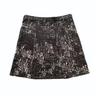 Nic + Zoe Graphic Print Mini Skirt
